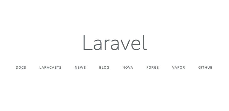 Laravelの動作確認画面