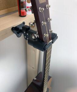 ギターハンガーの使用イメージ
